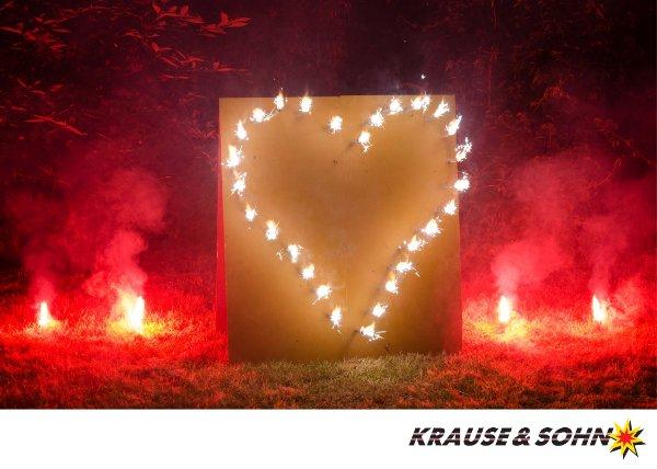 Gut bekannt Lichterbilder Feuerwerk Bilder & Feuerbilder Krause&Sohn KQ58